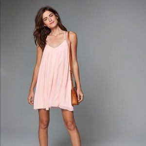 Abercrombie & Fitch Pink Swing Dress